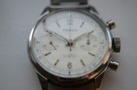 Pierpont manual wind mechanical chronograph wristwatch - Swiss - Vintage - Landeron 48