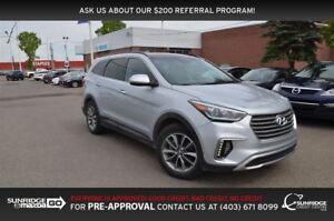 2017 Hyundai Santa Fe XL Luxury, AWD, SUNROOF, BACKUP CAM, NAVIG