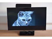 Samsung TV 22 Inch Full HD LED UE22K5000 + 1ByOne HDTV Aerial for TV Sign