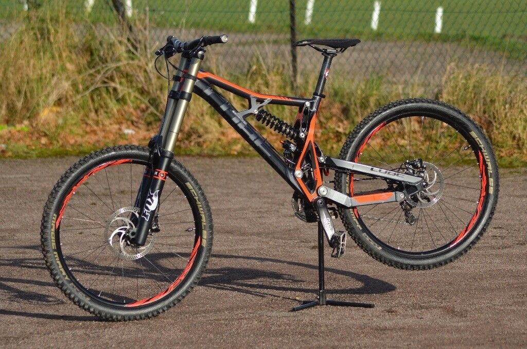 Cube Two 15 Sl26 Fulls Suspension Mountain Downhill Bike In