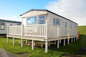 LOOK AT THIS STUNNING STATIC CARAVAN FOR SALE WITH LARGE DECKING PRICE INCLUDES 2017 SITE FEES