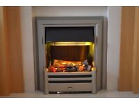 DIMPLEX OPTI-MYST ELECTRIC FIRE WITH REMOTE CONTROL