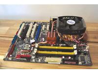 ASUS P5K PREMIUM WIFI-AP BLACK PEARL ANNIVERSARY SPECIAL EDITION + Intel Core 2 Quad Q6600