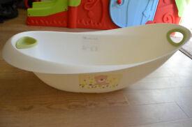 Baby bath tub Mothercare