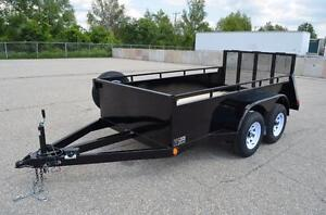 Skyjack Trailer 5X10 Customized and Purpose built  For your Manlift Brand new