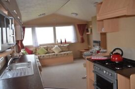 Static caravan for sale at Tattershall Lakes Country Park in Lincolnshire near Skegness beach
