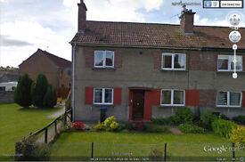 144 Tweedsmuir road. 2 bedroom, ground floor F&B with conservatory. £79,000.