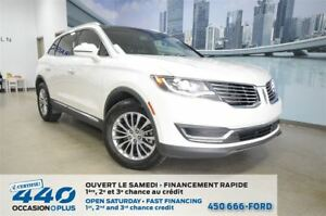 2016 Lincoln MKX Select   AWD, CUIR, TOIT, NAVIGATION
