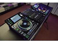 Denon SC5000 decks and X1800 mixer