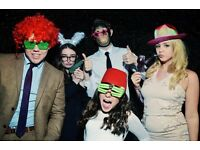 Photo Booth hire £225 for 3 hours, only £25 deposit to secure date, all areas covered