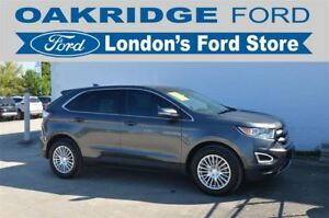 2016 Ford Edge ONE OWNER, HEATED PREMIUM LEATHER SEATS, REMOTE S