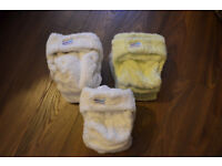 A big bundle of cloth nappies for sale – great bargain!