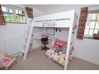 Aspace Warwick High Sleeper Bed with Futon