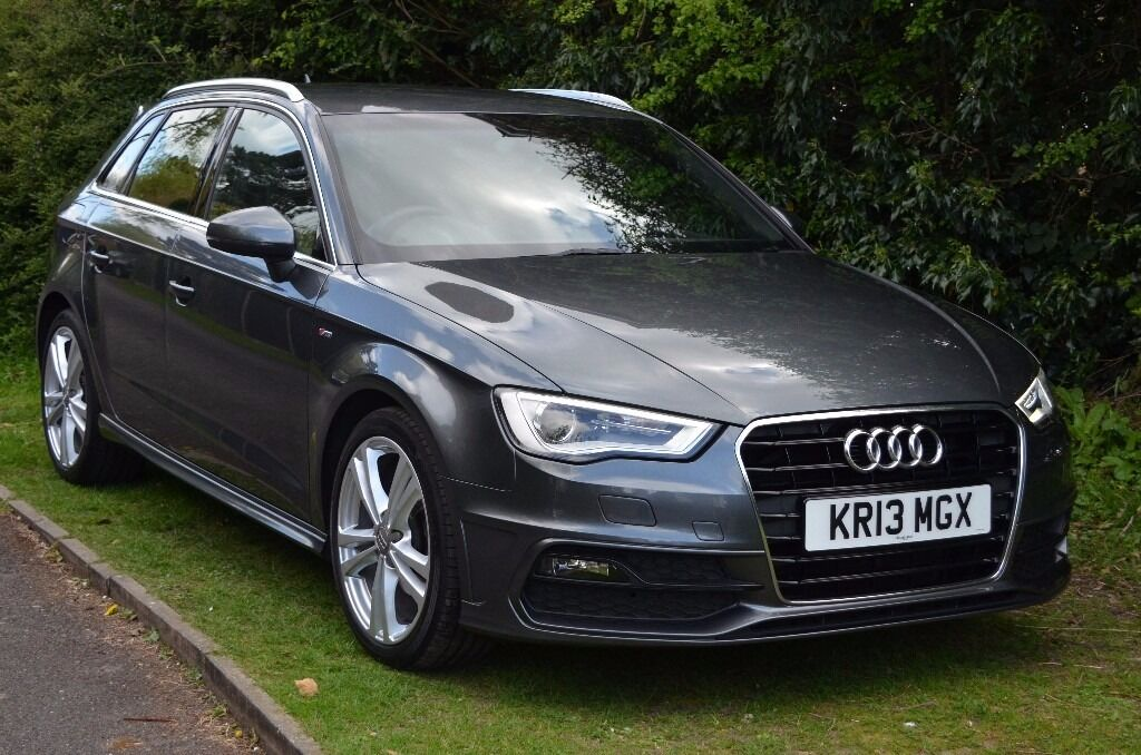 2013 audi a3 sportback s line 2 0 tdi 150ps manual daytona grey loads of extras in penn. Black Bedroom Furniture Sets. Home Design Ideas