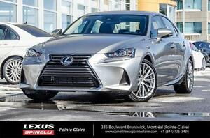 2017 Lexus IS 300 PREMIUM AWD DEMO REBATE $3600