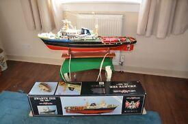 Remote Control Model Boat