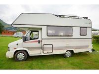 Fiat 5 Berth Motorhome, 1991, 2.5 diesel, She has been a reliable and a excellent runner for us