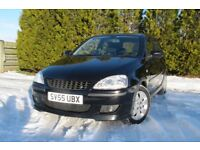 Vauxhall Corsa 1.2 SXi Black Irmscher modifications / bodykit exhaust FULL MOT Vauxhall s/history.