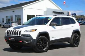 2016 Jeep Cherokee TRAILHAWK! 4X4! HEATED/COOLED LEATHER! NAV!