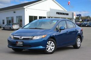 2012 Honda Civic LX | REDUCED | AIR | ONLY $49/WK TAX INC. $0 DO