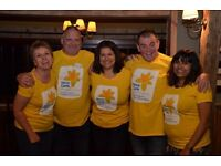 Volunteer Fundraising for Marie Curie