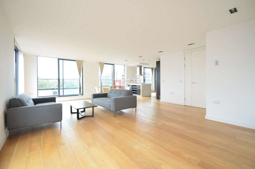 *** Stunning 3 Bed + 2 Bath Penthouse in Aldgate, E1 * Private Terrace * Available 11th November ***