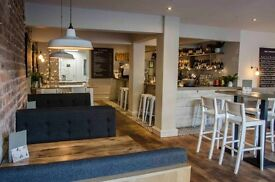 Chefs of all levels required for busy developing bar & restaurant