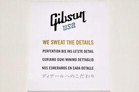 Gibson USA Original Quality Certification Card Les Paul SG ES 355