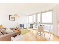 Stunning Studio Apartment on 23rd Floor of Ontario Tower in E14, Canary Wharf, Concierge & Gym- VZ