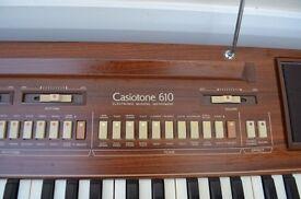 Casiotone 610 electric keyboard