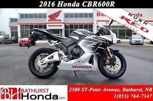 2016 Honda CBR600 Racy Performance! Strong Spark! Smooth Respons