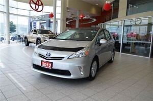 2012 Toyota Prius v Navigation, Panoramic Roof, Leather Seats