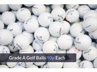 Grade A Perfect Condition Calaway Titlest & Top Brand Golf Balls 90p
