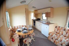 -last one at this price-great little starter caravan-no site fees for 2017-near dumfries,moffat,anan