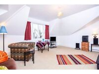A LARGE THREE DOUBLE BEDROOM TOP FLOOR APARTMENT WITH COMMUNAL GARDEN