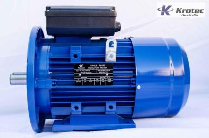 Electric motor single-phase 240v 2.2kw 3hp 1400rpm B35 Flange Roselands Canterbury Area Preview