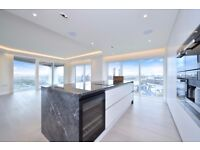 **Short let** A spectacular three bedroom apartment located on the 19th floor, Park Street, SW6