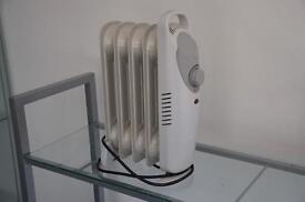 Small oil fill heater.