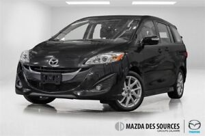 2017 Mazda MAZDA5 GT*AUTO*AC*CUIR*TOIT OUVRANT*SIEGES CHAUFFANT