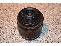 Nikon AF-S DX 18-55mm Nikkor Lens + 52mm 0.45x HD MC Super Wide Angle Lens Macro Fisheye