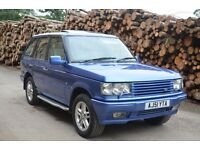 Range Rover P38 2.5 Diesel Automatic Monaco Blue Cream Leather - Great running condition
