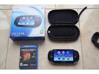 Sony PS VITA (Wi-Fi + 3G) + 16GB Memory Card & Games + Accessories