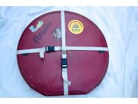 Le-blond style Red cymbal case