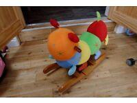 Mamas and papas caterpillar rocker chair