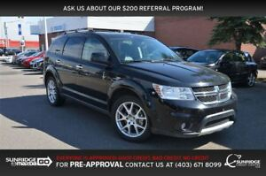 2017 Dodge Journey GT, AWD, LEATHER, HEATED SEATS, BLUEOOTH