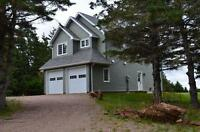 """Available immediately, """"Oceanfront"""" 1600 sq/ft home on 1.37"""