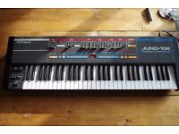 Juno 106 fully working vintage analogue synth
