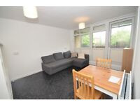 Secure, spacious 1st floor flat in a quiet, purpose-built block.Gas and Heating included