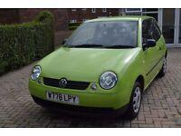 VW Lupo 1.0 Petrol Green 10 months MOT low milage