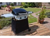 Sahara Gas BBQ with gas hob (Excellent condition As New)
